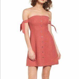 NWT ASTR Off The Shoulder Mini Dress Medium